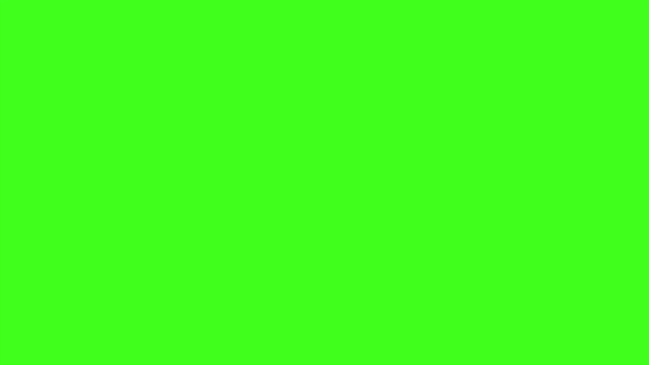 A GREEN SCREEN FOR 10 HOURS