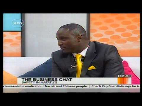 The Business Chat: Installing CCTV cameras in matatus with Mr. Anderson Kapendwe