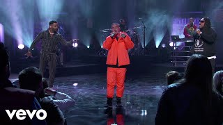 Download J. Balvin - No Es Justo ft. Zion & Lennox (Live From Jimmy Kimmel!) Mp3 and Videos