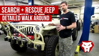 Search and Rescue Jeep Detailed Walk Around