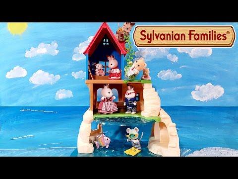 ДОМИК НА РИФЕ Sylvanian Families! Новинка 2016!!! Мультяшный обзор на русском