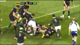 Ireland vs South Africa 2012 Autumn Internationals