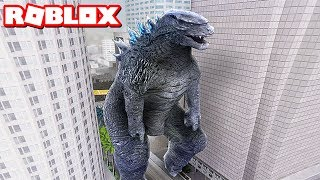 GODZILLA ATTACKS IN ROBLOX