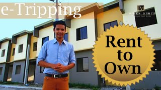 Affordable Rent to Own House at Tanza Cavite Amaya Breeze Townvilla 1 Model