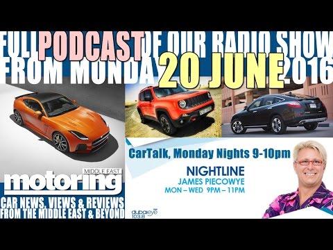 Car Talk Radio Show Podcast from 20 June 2016 on Dubai Eye