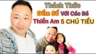 Thách thức ĐẾM SỐ cho vui cùng với các bé Thiền Am   5 Chú Tiểu 2020   Lộc Lê