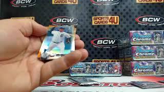 2017 Bowman Chrome Mini Baseball Factory Set 1Box Team Break #2 (Ended 2-22-18)