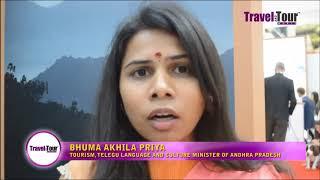 Andhra Pradesh can be enjoyed all the year round says Bhuma Akhila Priya, AP tourism minister