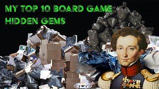 Top 10 Hidden Gem Board games