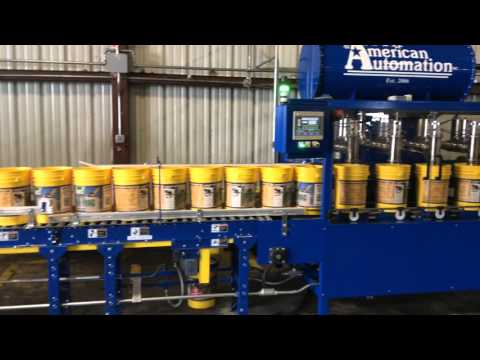 American Automation 5 Gallon Pail Filler and Lid Pick