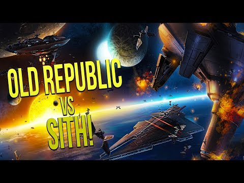 OLD REPUBLIC vs SITH EMPIRE! - Star Wars Empire at War [Yoden Mod]