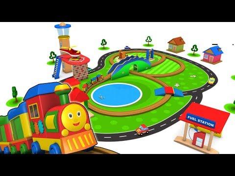 Cartoon Train - Cartoon Video - Trains for Kids - Toy Factory - Children's Trains - Trains Kids