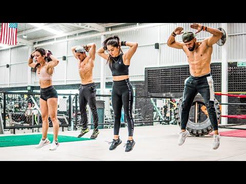 BURPEE ejercicios En Casa 🚫 4 Min Burpee TABATA WORKOUT