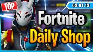 Fortnite Daily Shop *TOP* TARO & NARA SKIN (9 Januar 2019)