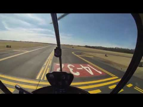 GoPro: R22 Helicopter Add-On Full Flight #21, Solo Pattern @ Towered Field ...
