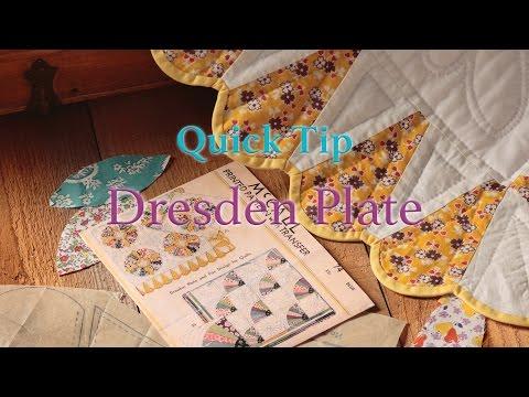 Quick Tip: Dresden Plate