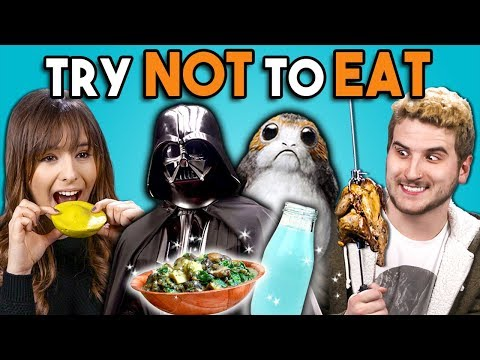 Try Not To Eat Challenge - Star Wars Food   People Vs. Food
