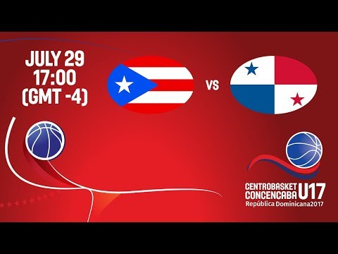 Puerto Rico vs Panama - Full Game - Semifinal #1 - Centrobasket U17 2017