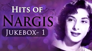 Nargis Dutt Top Songs Collection in Bollywood - Best Of Nargis Hits
