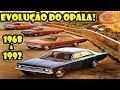 Todas as versões do Chevrolet opala 1968 a 1992