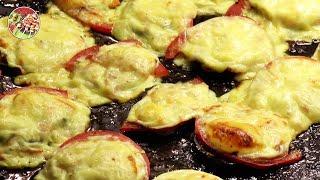 Баклажаны жареные, с беконом или сыром. Просто, вкусно, недорого.