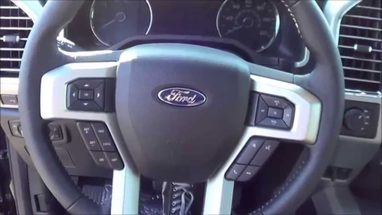 Ford F150 2015 Start Up Interior Exterior Review Youtube