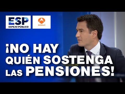 No hay quien sostenga las pensiones