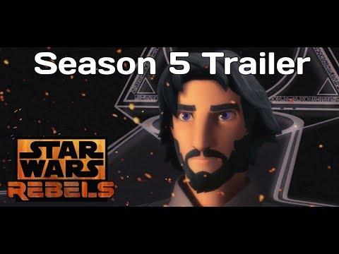 Star Wars Rebels Season 5 Trailer (FanMade)