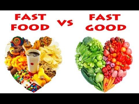 Fast food vs fast good 1 youtube for Lean cuisine vs fast food