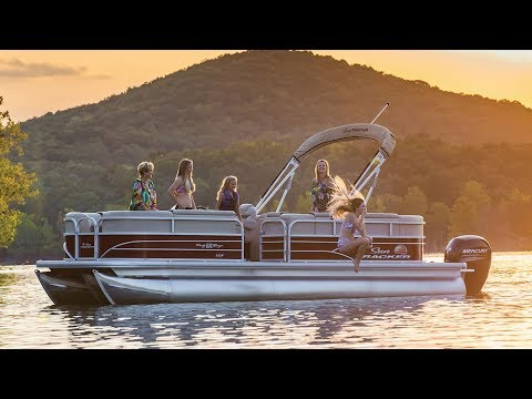 SUN TRACKER Boats Videos PARTY BARGE 22 XP3