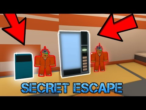 Top Secret Escape Spots In Jailbreak! [Roblox]