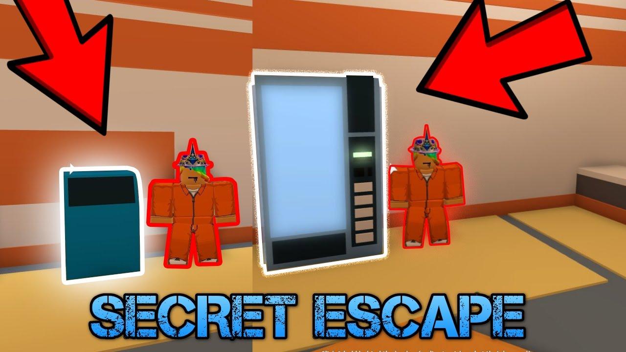 Top secret escape spots in jailbreak roblox for Secret escape games