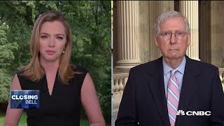 Senate Majority Leader McConnell: Wę don't want to make it more profitable to stay home than work