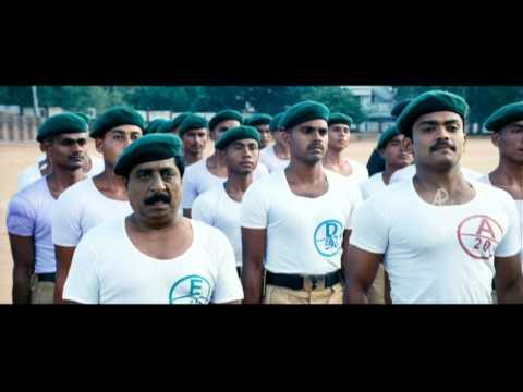 Padmasree Bharat Dr. Saroj Kumar Malayalam Movie | Sreenivasan | Army Training Camp | 1080P HD