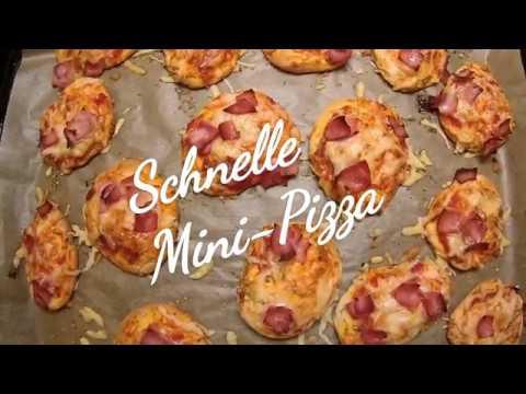 Schnelle Mini Pizza Rezept Episode 0058 Youtube