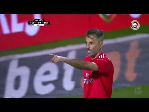 Goal Jonas: V. Setúbal 0-(1) Benfica (Portuguese League 18/19 #12)