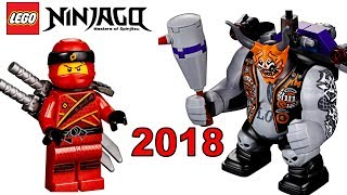LEGO Ninjago 2018 наборы новинки