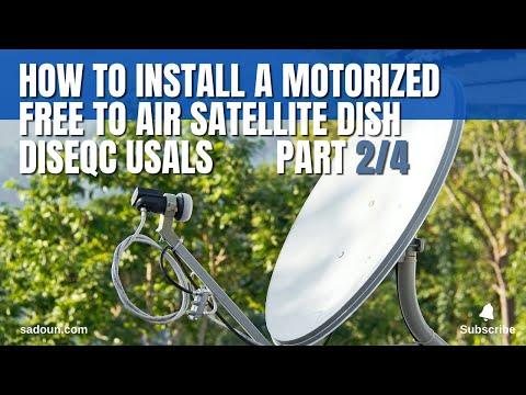 Free to Air FTA Satellite System -
