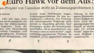 Toll! Euro Hawk Down