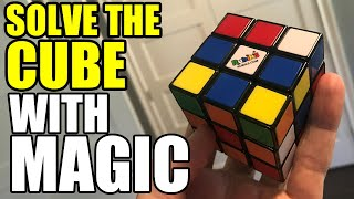 Magically Solve the Rubik's Cube