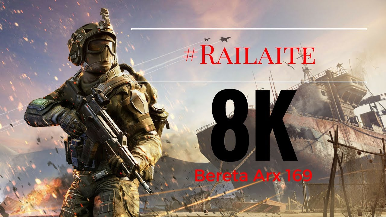 Warface: 1 #Railaite 8k