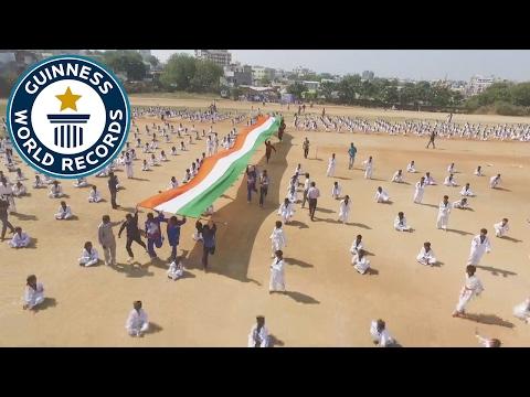 Largest Taekwondo display - Guinness World Records