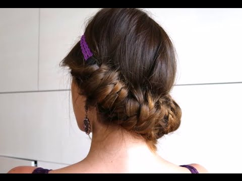 Греческая прическа с косами by AnaLisboa