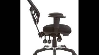 Manhattan Comfort Mc-616-bl Executive Mesh High-back Adjustable Office Chair Black