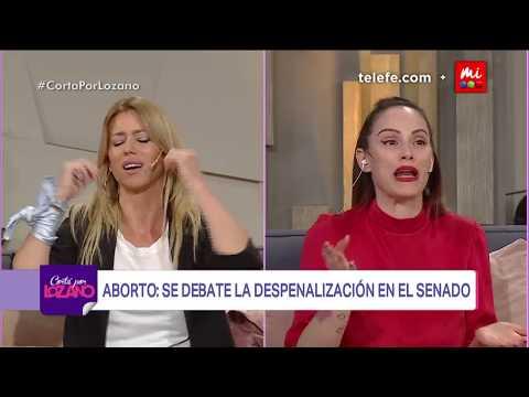 Fuerte pelea entre Connie Ansaldi y Nicole Neumann por el Aborto - Cortá por Lozano