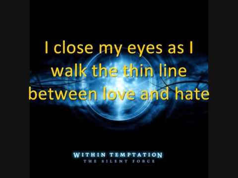 12. Destroyed - Within Temptation (With Lyrics)