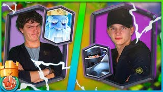 BESTE TROLL DECK OOIT! 100% WINNEN!! (ROYAL GHOST + MEGA KNIGHT) - Clash Royale