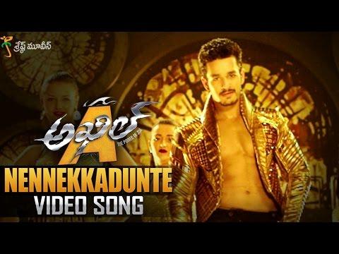 Nennekkadunte Full Video Song || Akhil Movie Video Songs || Akhil Akkineni