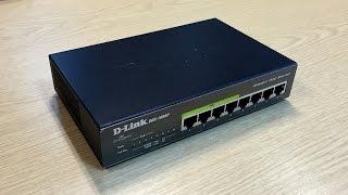 D-LINK DGS-1008P Switch