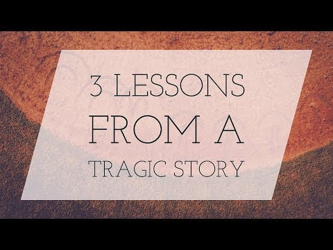 Three Lessons From a Tragic Story | Dave Hoffman